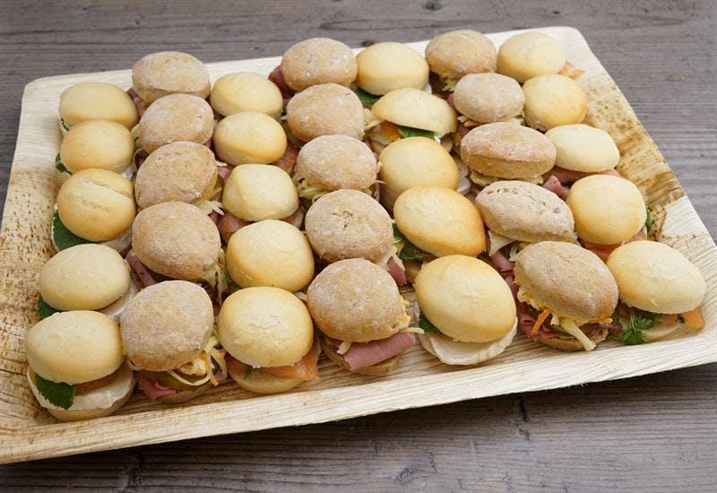Catering Menü 35er Mini Brot Selection