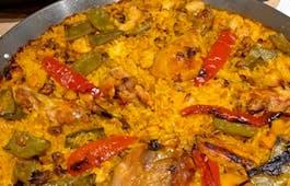 Catering Menü Lunch Espana