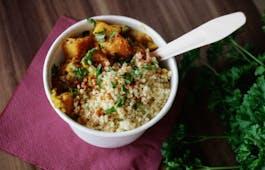 Catering Menü Gesundes veganes Lunchmenü