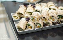 Catering Menü Wrap Fingerfood Menü