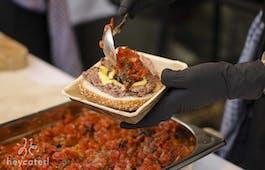 Catering Menü Internationale Platte
