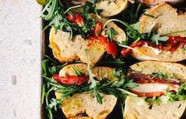 Catering Menü Deli Sandwiches Meat & Fish