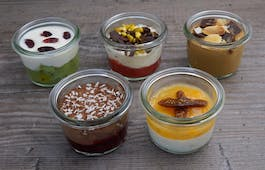 Catering Menü 5er Dessert Selection