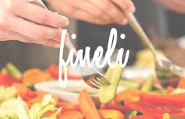 Catering Menü Vegetarische Wrap-Platte