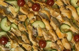 Catering Menü Französischer Snack Mix