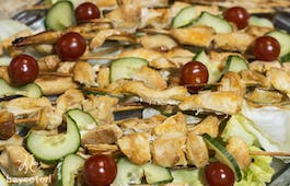 Catering Menü Kreativer Snack-Mix