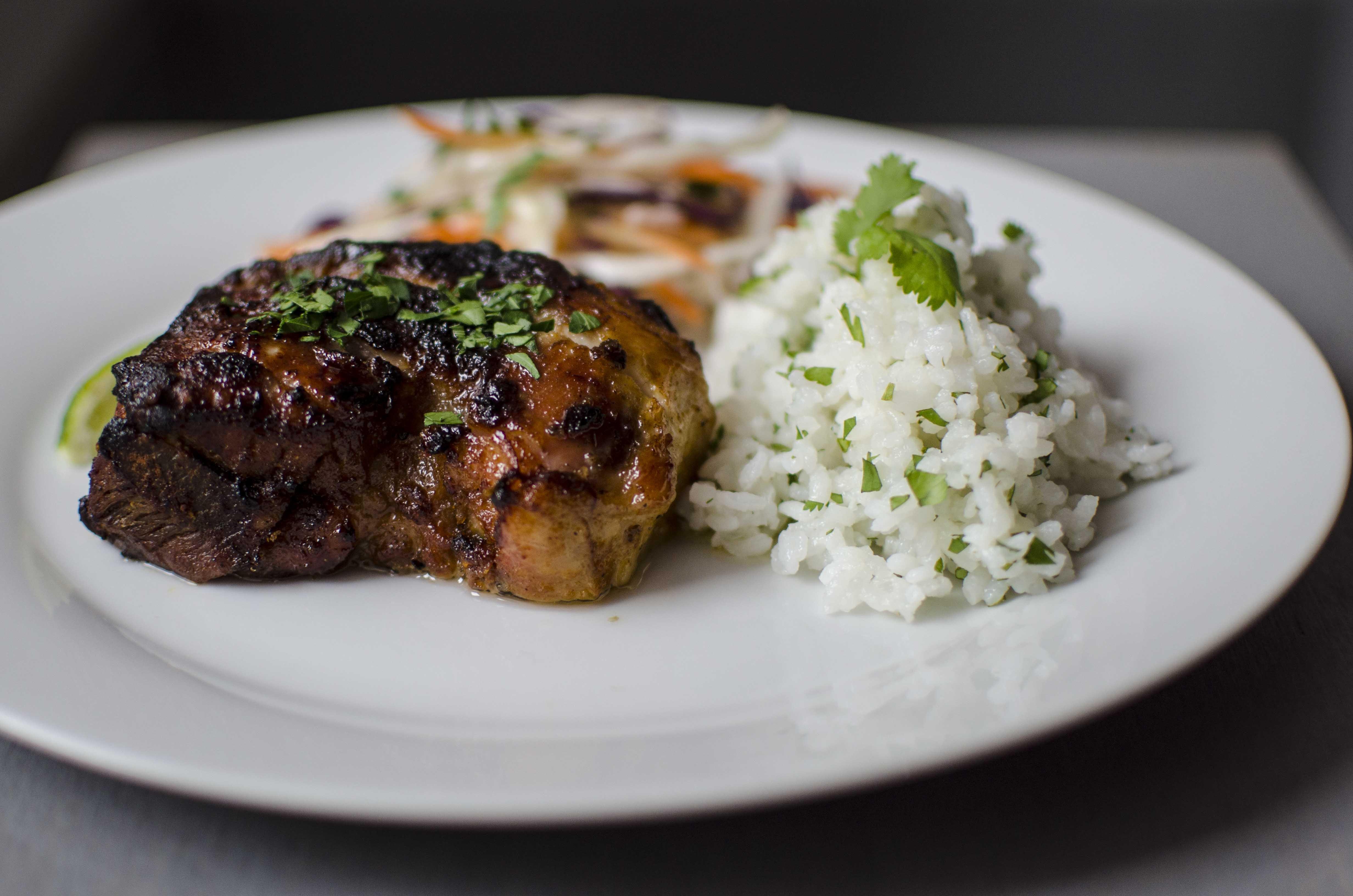 Catering Menü American-Fusion Mittagstisch