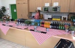 Catering Menü Getränke nach Verbrauch