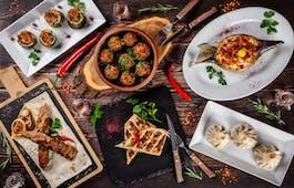 Catering Menü traditionelles Drei-Gänge-Menü