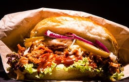 Catering Menü Chickenburger Menü