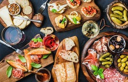 Catering Menü Herzhafte Sandwichplatte