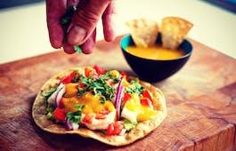 Catering Menü Burrito Vielfalt