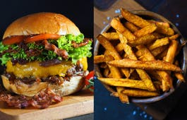 Catering Menü Burger-Wirtschaft