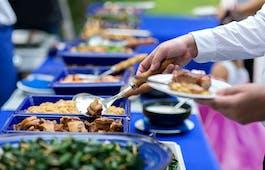 Catering Menü Spanferkel Buffet