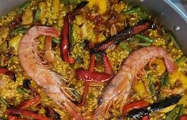 Catering Menü Spanischer Lunch