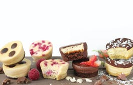 Catering Menü Mini Muffin Set Cheesecake
