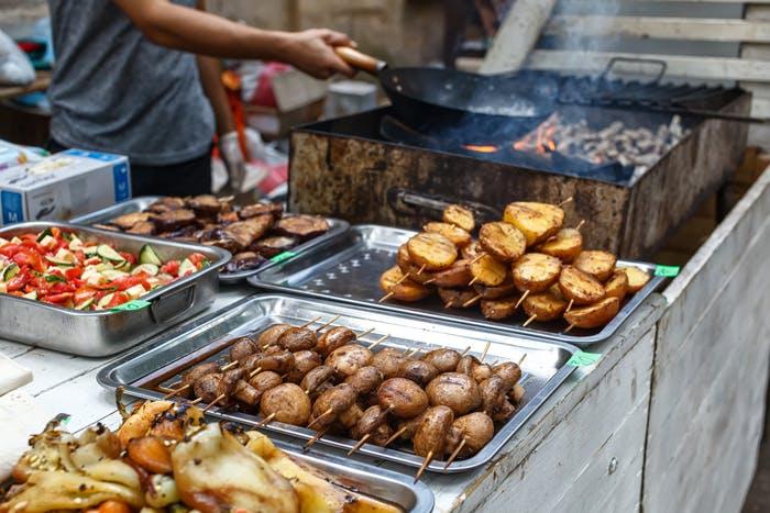 Catering Menü Arabisches BBQ