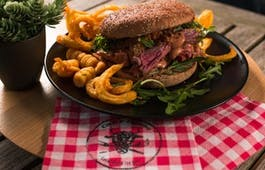 Catering Menü Burger und Boxenstopp 2h