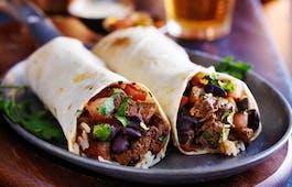 Catering Menü Mexikanisches Burrito Menü