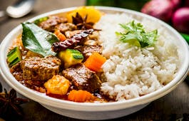 Catering Menü Massaman-Curry
