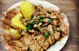 Catering Menü Wraps & Taler