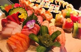 Catering Menü Sumida Sushi Platte