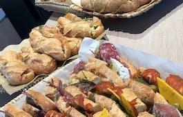 Catering Menü Französische Sandwiches