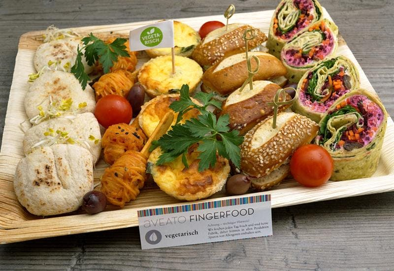 Catering Menü Meetingplatte Vegetarisch