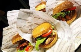 Catering Menü StreetQuizine Burger Flat