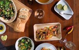 Catering Menü Suppe & Gemüsebratling