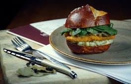 Catering Menü Burger & Salat