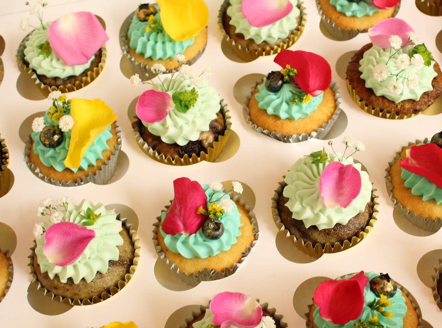 Catering Menü Cupcake Box