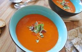 Catering Menü Suppen Venezuela