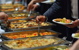 Catering Menü Hochwertiger Lunch