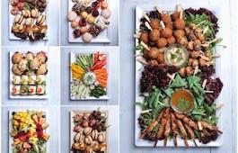 Catering Menü ÄGÄISCHE FINGERFOOD-PLATTE