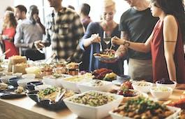 Catering Menü Vegetarisches Buffet