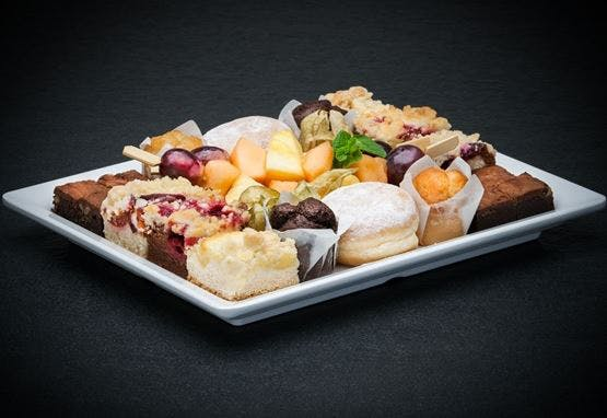 Catering Menü 20er Sweets Platte