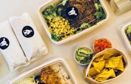 Catering Menü Burrito Business Lunch