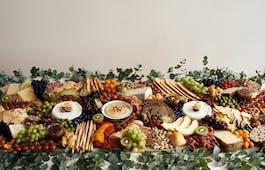 Catering Menü Grazing Tables 4 Meter