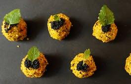 Catering Menü Vegan Brunch Plate