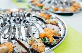 Catering Menü Gourmetlöffel-Buffet