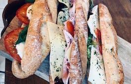 Catering Menü Körnerschrippen Sandwiches
