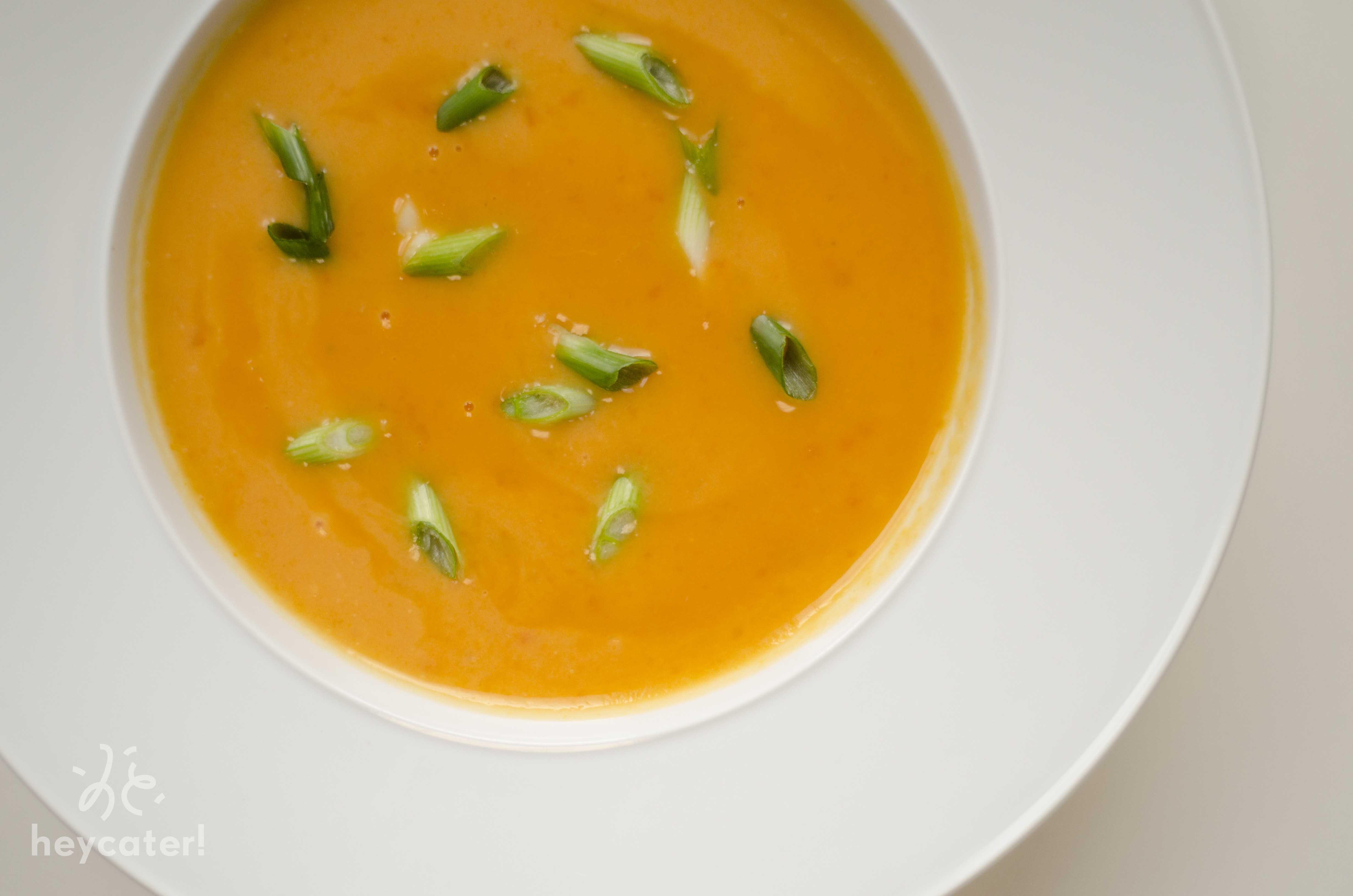 Catering Menü Zweierlei Suppe