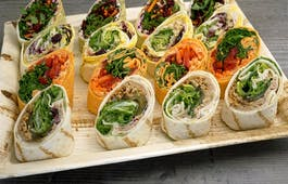 Catering Menü 16er Mini Wrap Selection