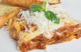 Catering Menü Lasagne Zweierlei