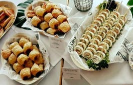 Catering Menü Fingerfood Buffet Veggie-Mix