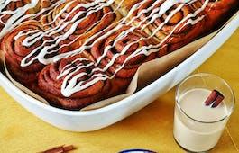 Catering Menü Amerikanische Zimtschnecken