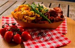 Catering Menü Currywurst-Menü bis 100 P.
