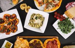 Catering Menü italienisches Drei-Gänge-Menü